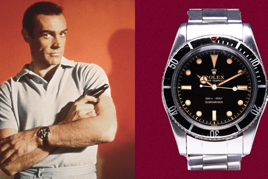 This Watch Helped Sean Connery Become James Bond