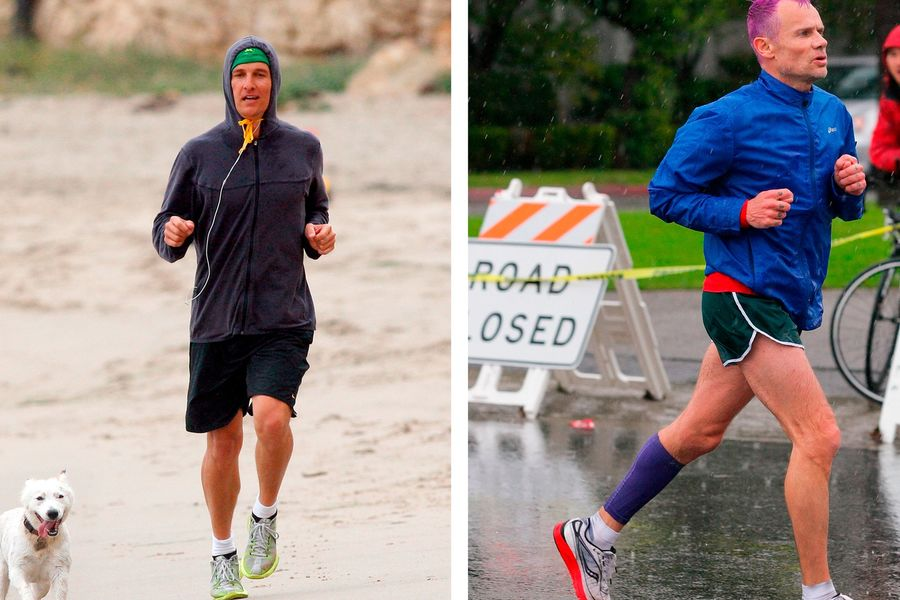 Cool Running: Take A Jog With These Celebrities