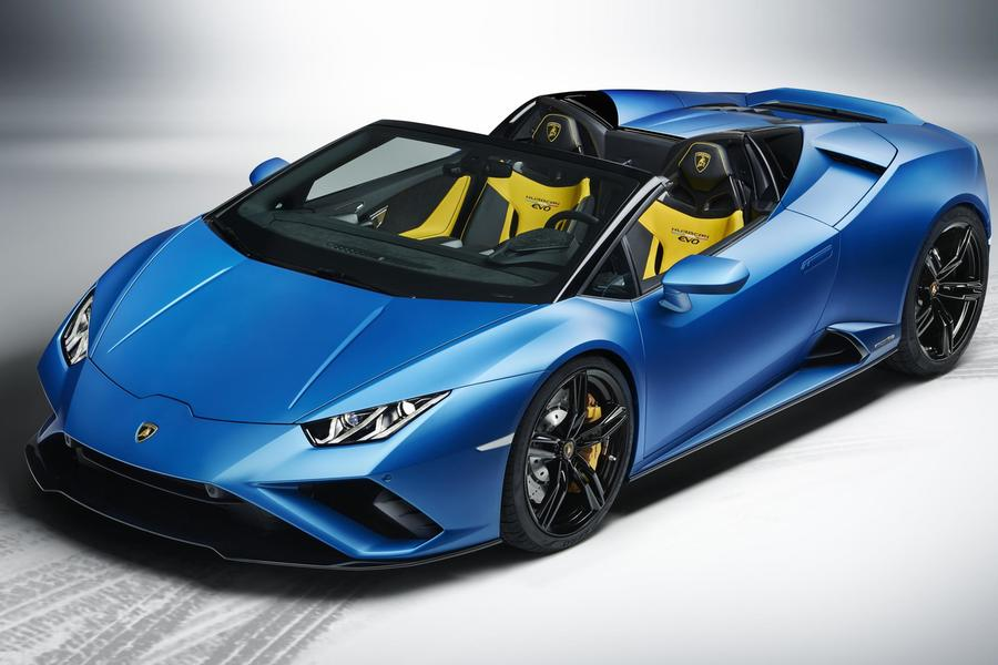 We Admire The Gorgeous New Huracán EVO RWD Spyder From Every Angle