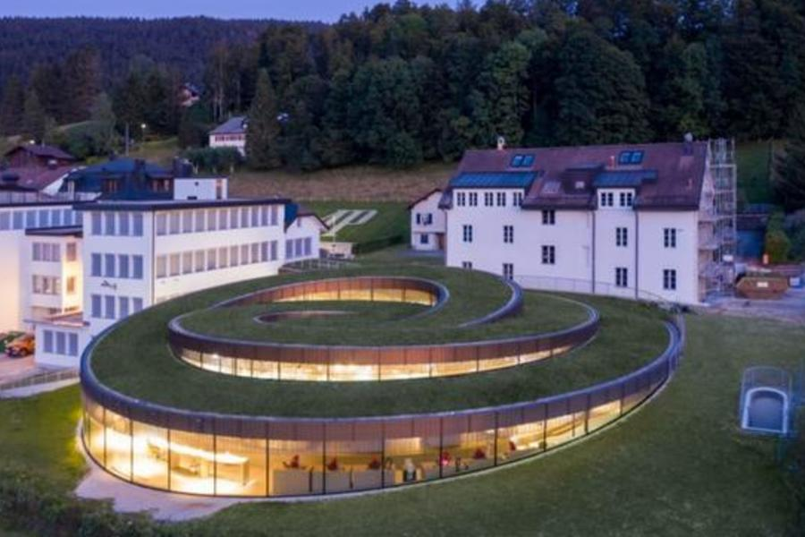 The Museum For Audemars Piguet Looms Large In The Swiss Mountains