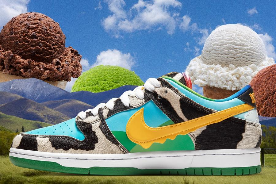 Nike SB x Ben & Jerry's Is 2020's Wackiest Sneaker Collab