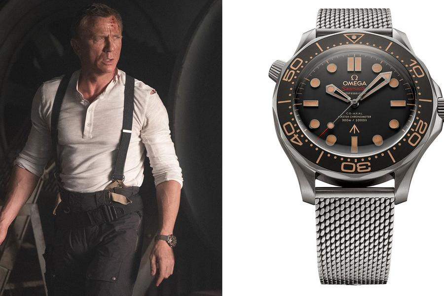 Omega's Seamaster Diver 300m 007 Edition Conjures Ian Fleming's Original James Bond
