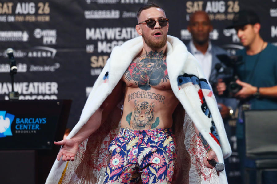 10 Times Conor McGregor Dressed Like A Style Champion