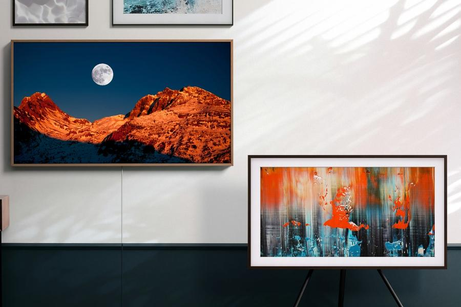 Samsung's The Frame Tv Will Transform Your Home Into The Louvre
