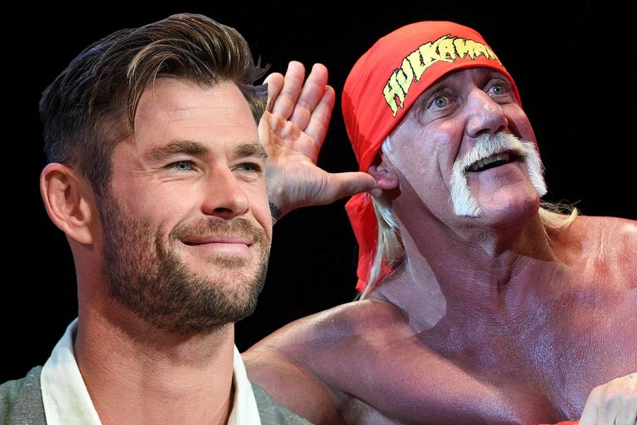 Chris Hemsworth Is Getting More Jacked Than Ever To Play Hulk Hogan In A Netflix Biopic