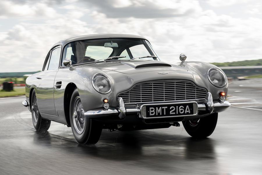 Aston Martin Reissue James Bond's Iconic DB5