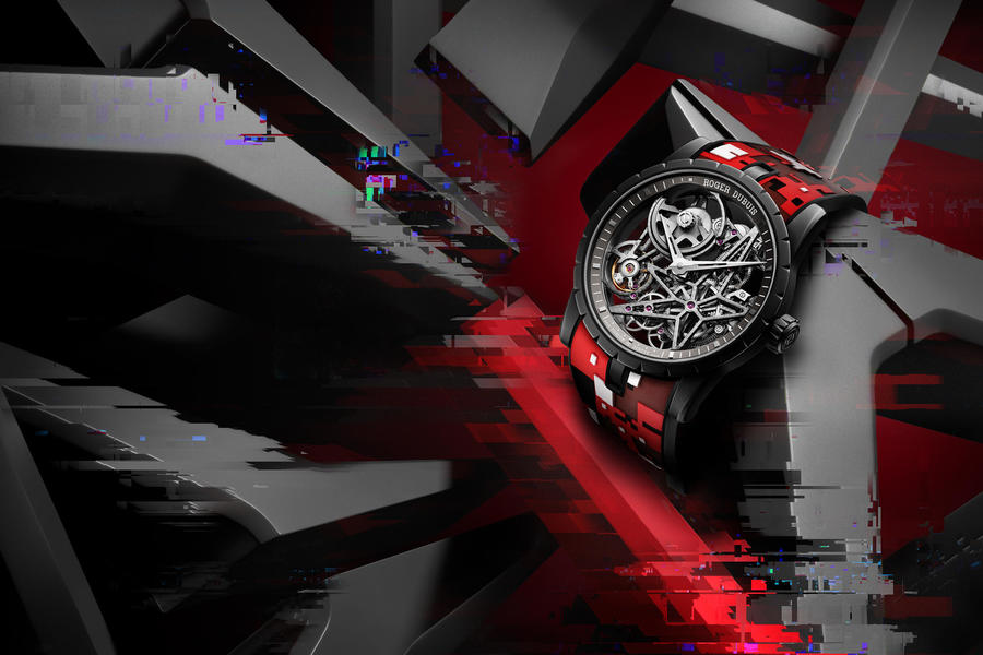 The Roger Dubuis Excalibur Automatic Skeleton Turns Heads