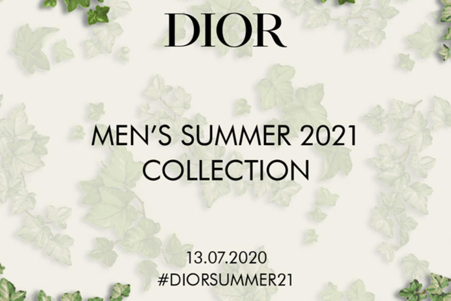 Watch: Dior Men Summer 20/21 Show