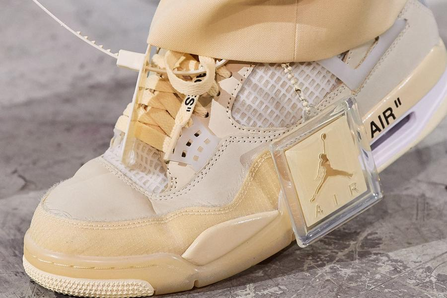 The Nike Air Jordan 4 X Off-White Can Be Yours Next Week