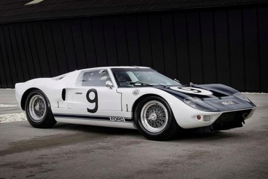 One Of The Three Remaining Ford GT40 Prototypes Has Come Up For Sale