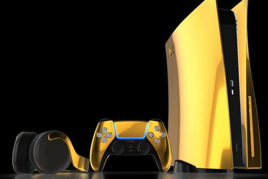 This London-Based Company Wants To Sell You A 24K Gold Playstation 5