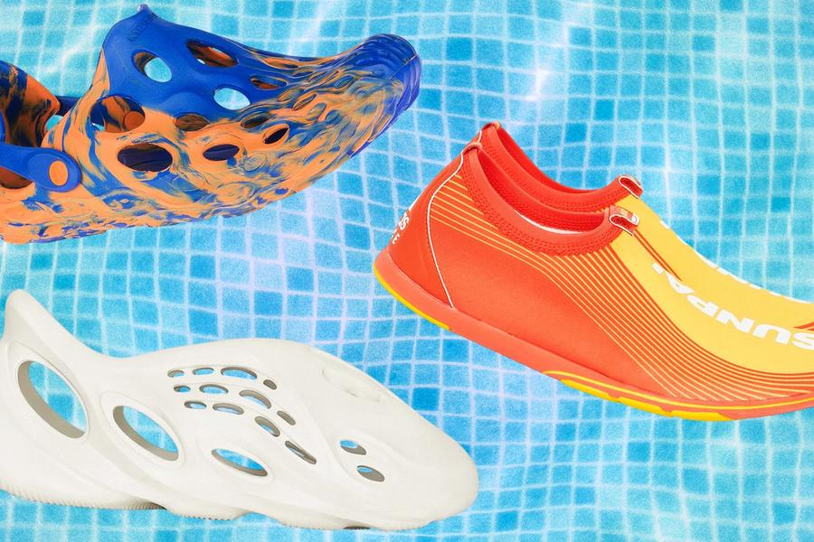 Embrace The Humble Water Shoe, 2020's Weirdest Trend