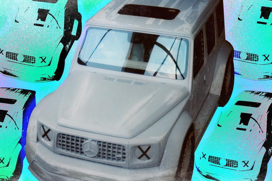 Virgil Abloh Helped Create a Crazy G-Wagen Concept