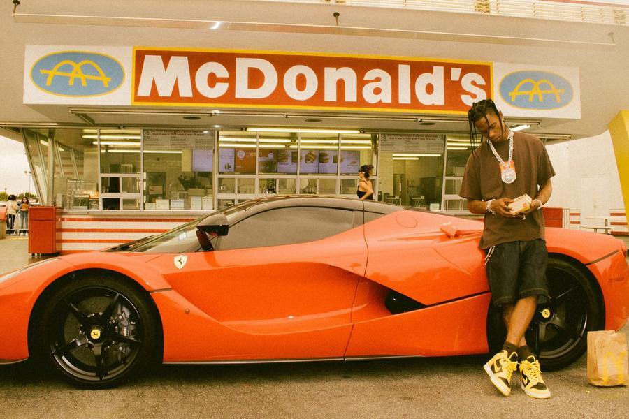 Travis Scott Can Turn a Burger Order Into a Grail