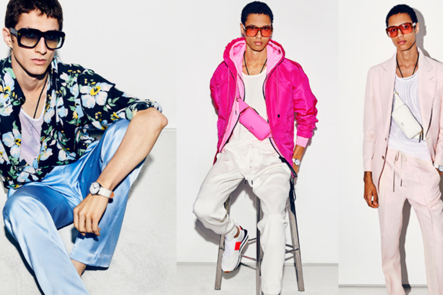 """Tom Ford's SS21 Collection Is """"Clothes To Have A Bit Of Fun In"""""""