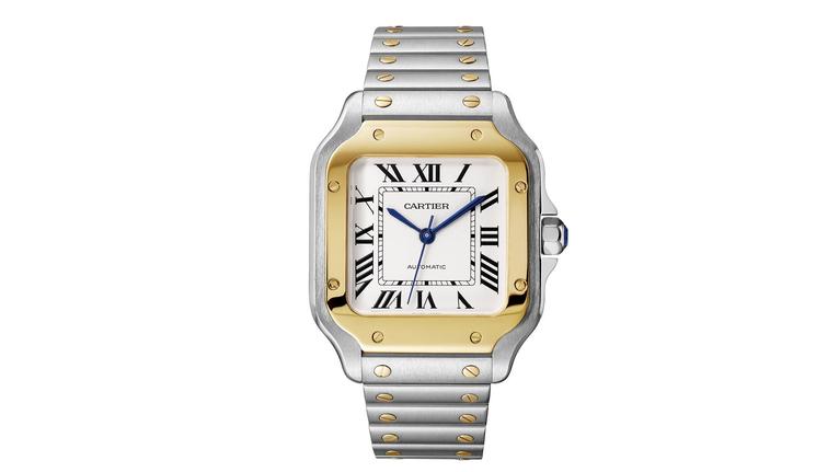 Cartier Santos Steel Gold