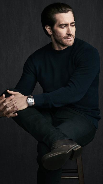 Jake Gyllenhaal Cartier Santos