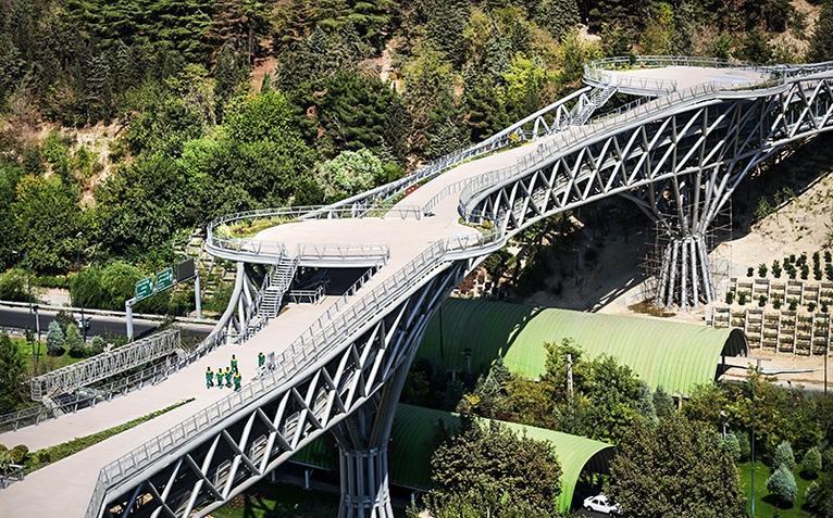 Tabiat Bridge, Iran