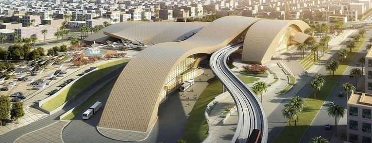 Omrania Metro Station