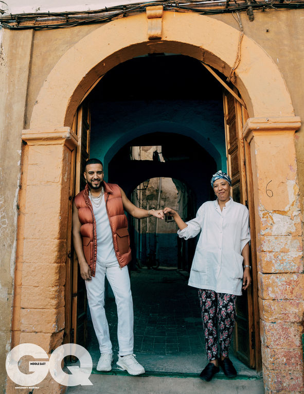 French Montana for GQ Middle East