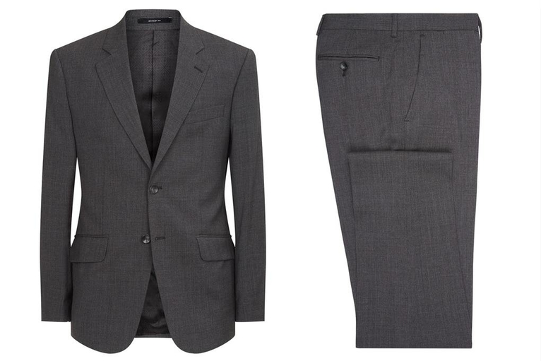 Suit by Hardy Amies