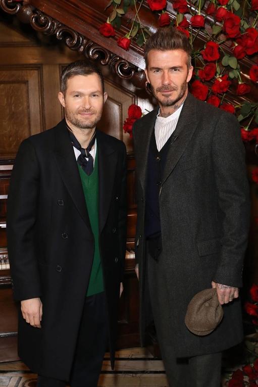David Beckham Just Went Full Peaky Blinders On Us At London Fashion Week Men's AW19