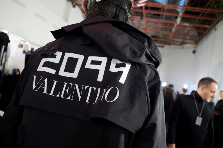 Valentino Backstage Fall/Winter '19