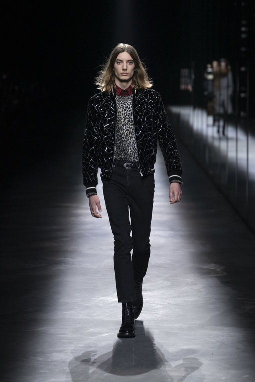 The Might Of Muses At Saint Laurent's Fall/Winter 2019 Show