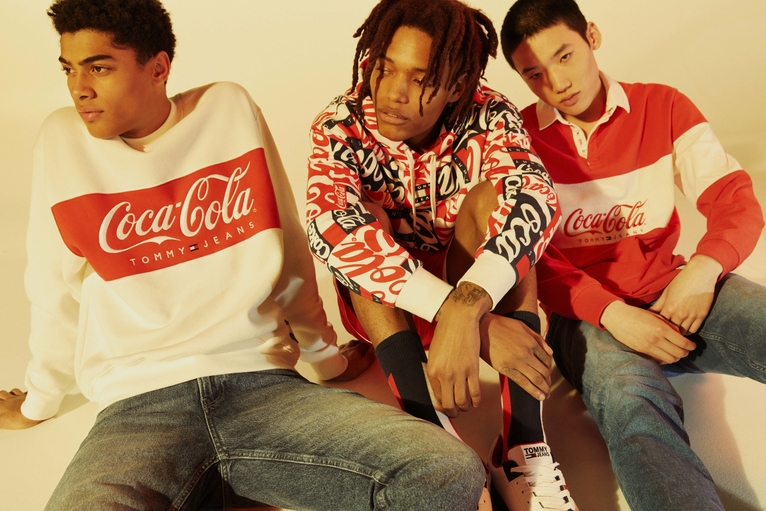 Queue The Nostalgia: The Tommy Jeans Coca-Cola Collection Is Back