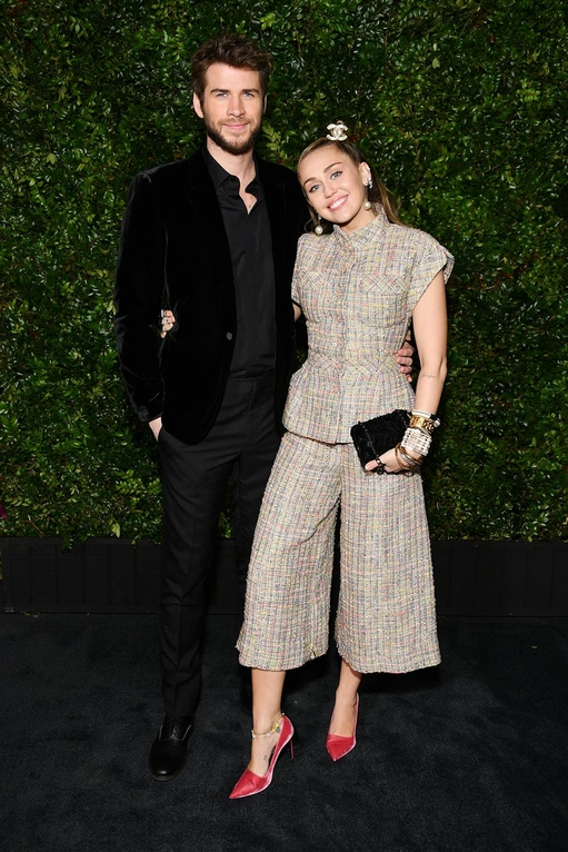 Liam Hemsworth and Miley Cyrus have really stepped up their style game this year