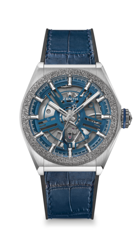The Zenith Defy Inventor runs at a frequency of 18 Hz
