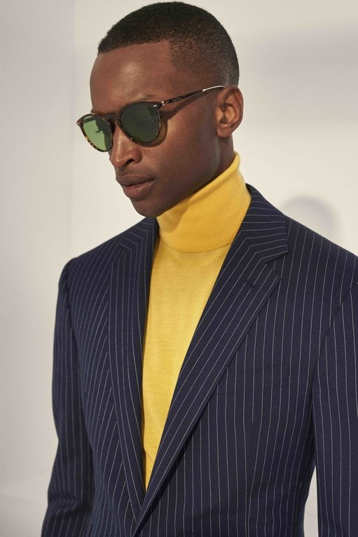 Ralph Lauren Purple Label Pops Of Colour For Spring/Summer 2020