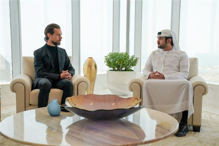 Twitter CEO Jack Dorsey Welcomed To UAE With Personalised Passport Stamp