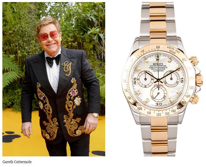 Elton John's Special-Edition Rolex Daytona