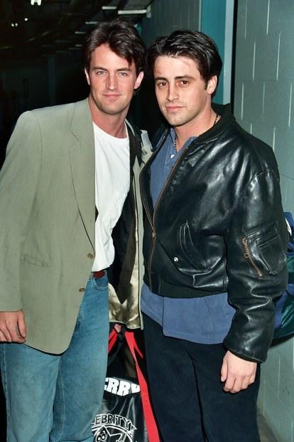 Matthew Perry and Matt LeBlanc