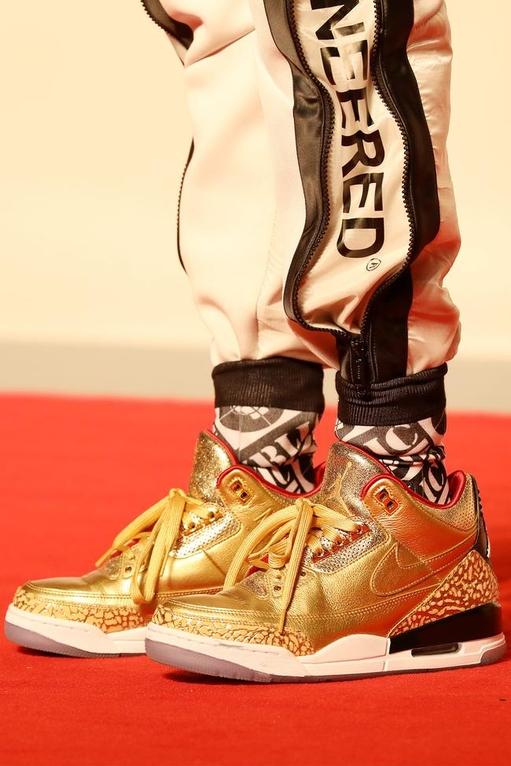 Spike Lee's sneakers