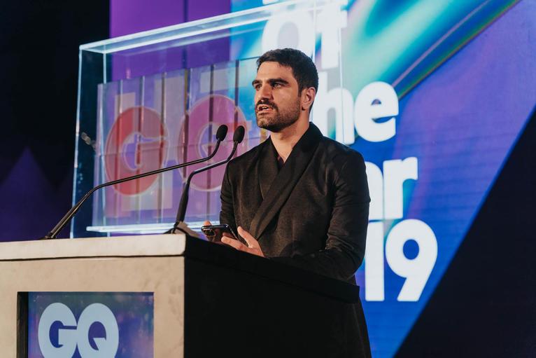 GQ Editor in Chief Adam Baidawi