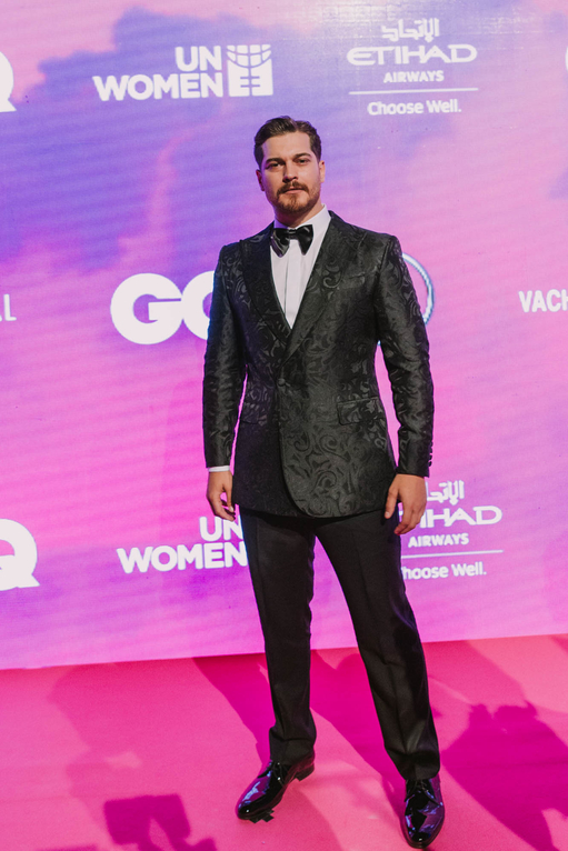 Cagatay Ulusoy GQ Middle East Men of the year Television star award winner