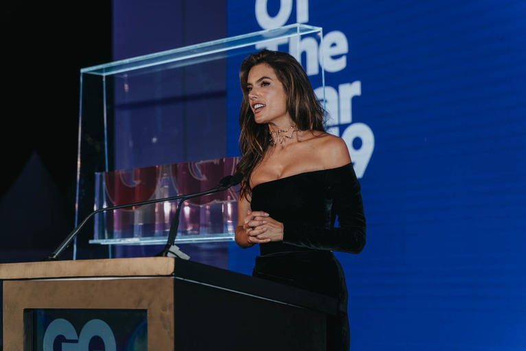 Alessandra Ambrosio GQ Middle East Men of The Year Awards