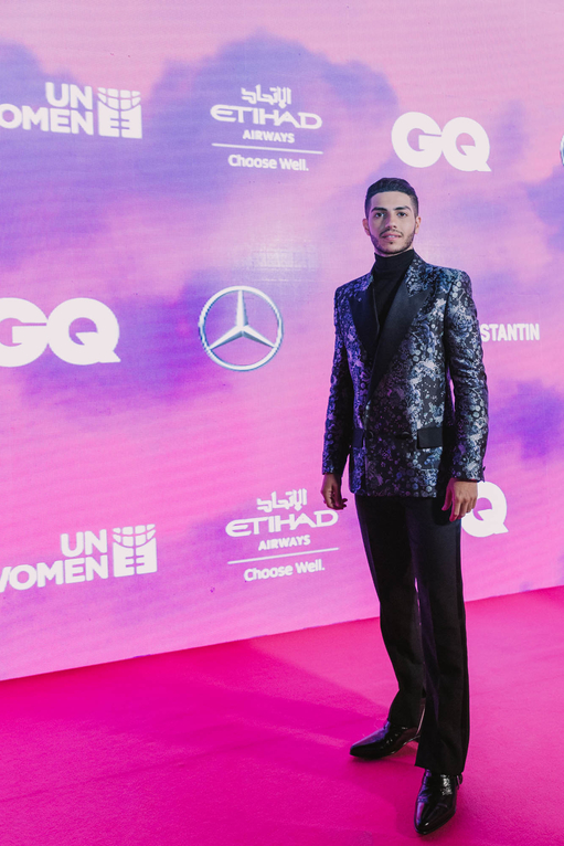 Mena Massoud GQ Middle East Men of the year breakthrough talent
