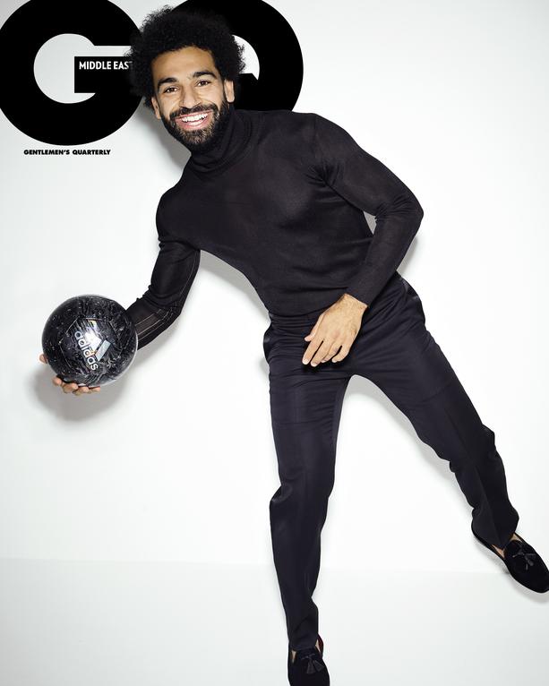 Mo Salah GQ Men of the year cover