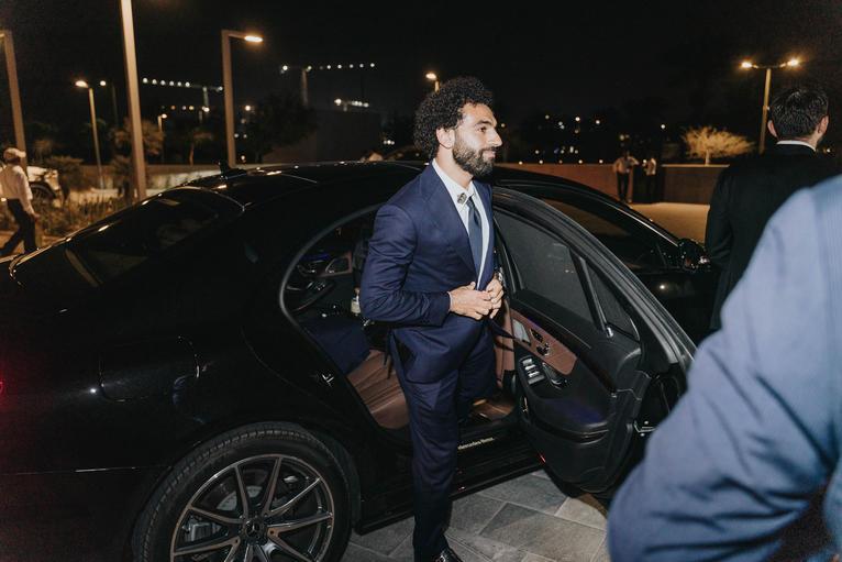 Mo Salah Mercedes