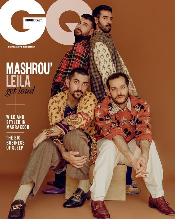 Mashrou Leila GQ Middle East Cover