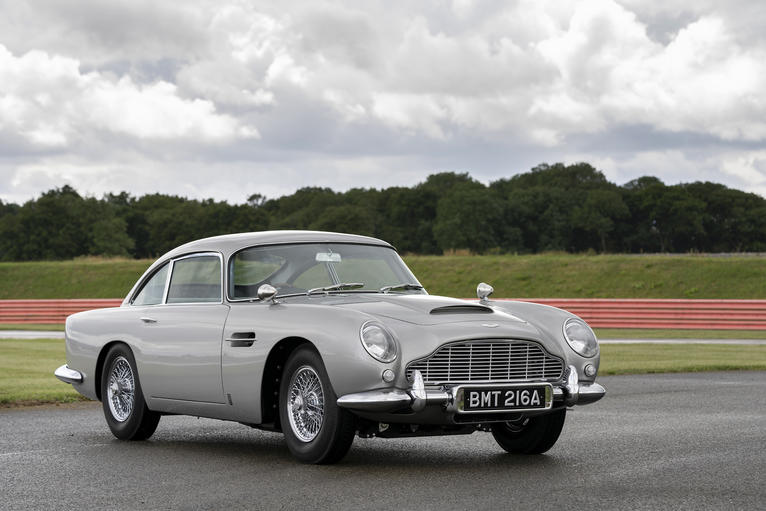 A First Look At The First New Aston Martin Db5 In Fifty Years Gq Middle East