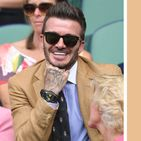 David Beckham Is Really Happy to Be Wearing This Watch