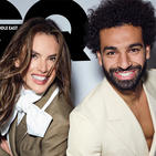 Watch Behind The Scenes Footage Of Mo Salah And Alessandra Ambrosio