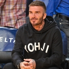 David Beckham Roots For The Team That Always Wins: Yohji Yamamoto