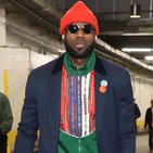 LeBron James Is Really Dressin'