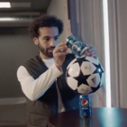 Mohamed Salah Wins At Pepsi's Balance Test