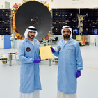 Ruler Of Dubai And Crown Prince Oversee The Completion Of The UAE's First Mars Probe